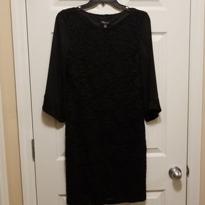 Ronni Nicole Black dress